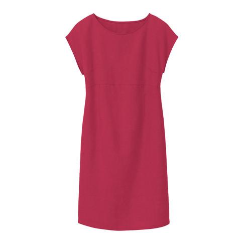 Linnen jurk, kers 38