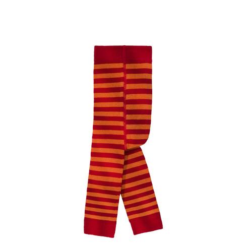 Gestreepte babyleggings, rood 68/74