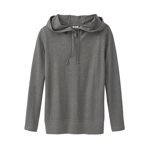 Capuchon-shirt, grijs 46