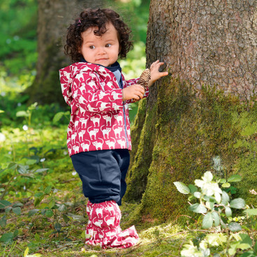 Outdoor-babybroek Bionic-Finish Eco, rood