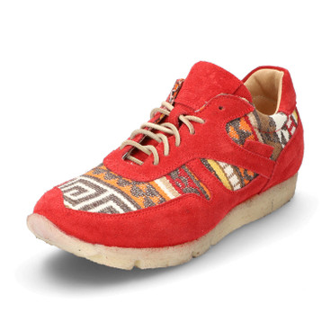 Sneakers, rood/multicolor