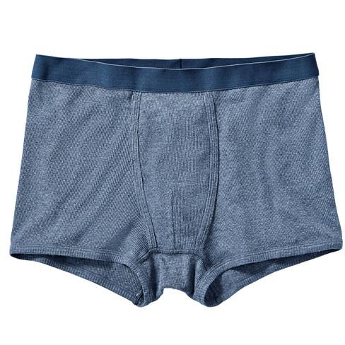 Boxershorts, jeansblauw-gem�leerd L