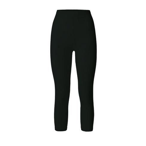 3/4 legging, zwart 44