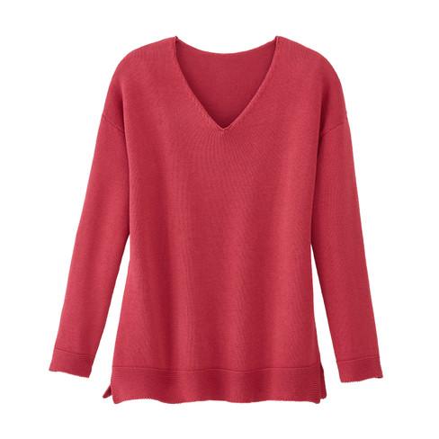 V-hals-pullover, bes 40/42