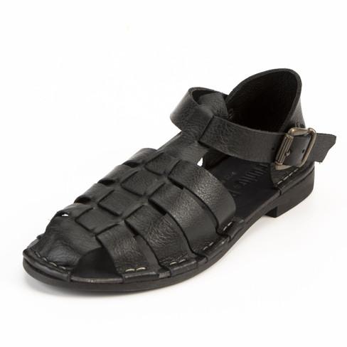 Sandaal, zwart 42