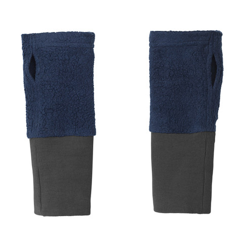 2 in 1 warmers, blauw L 22 cm