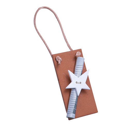 Hanger ster L 6,5 x B 3 cm