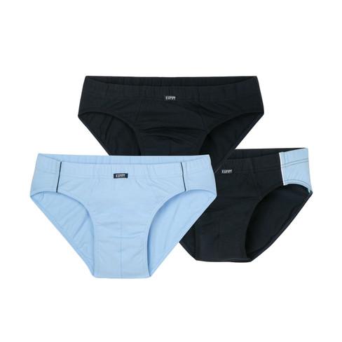 Slip, pak van 3, marine/lichtbla 8