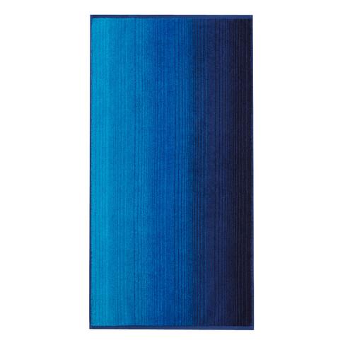 Bio-badhanddoek, blauw 70 � 140 cm