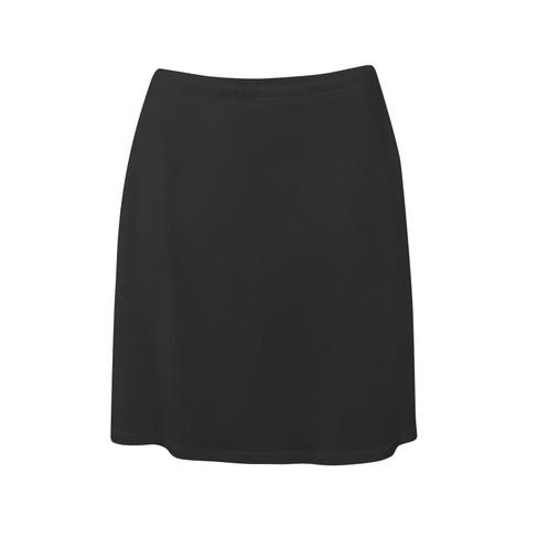 Zijden onderrok uit Organic Silk, kort, zwart 34