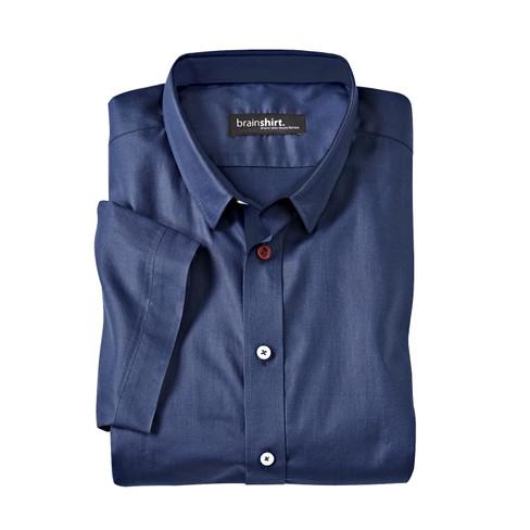 Overhemd met korte mouwen AKERSHUS, nachtblauw L