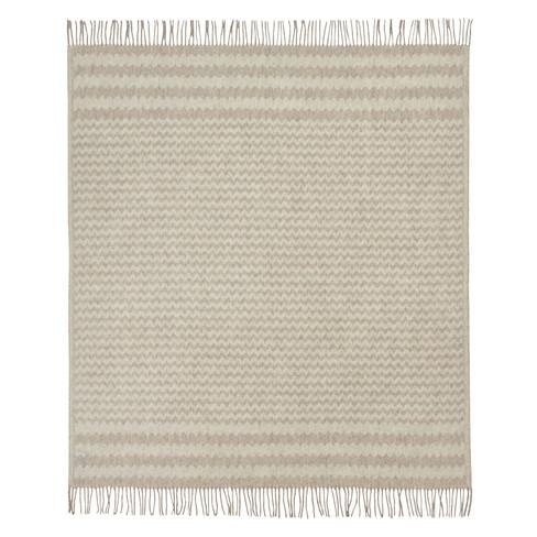 Scheerwollen deken, natuur 140 × 200 cm