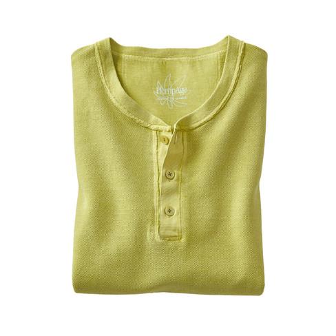 Shirt met korte mouwen en knoopsluiting, appelgroen L from Waschbär