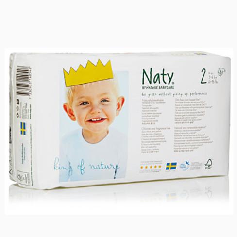 Naty luiers 2:3-6 kg 34 stuks