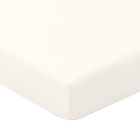 Biojersey hoeslaken, natur 150 x 200 cm
