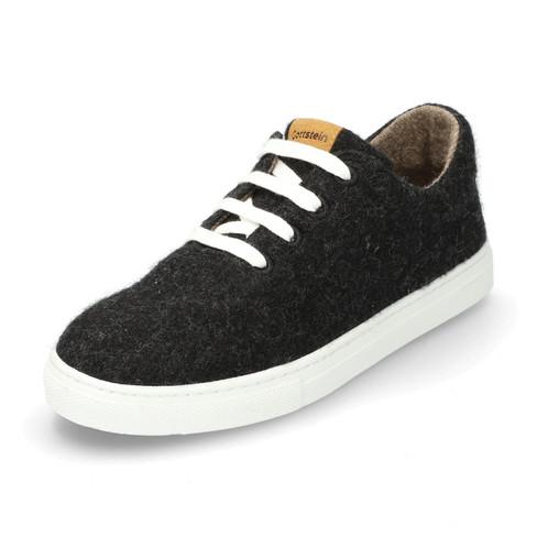 Wol-sneaker, antraciet-gemêleerd 43
