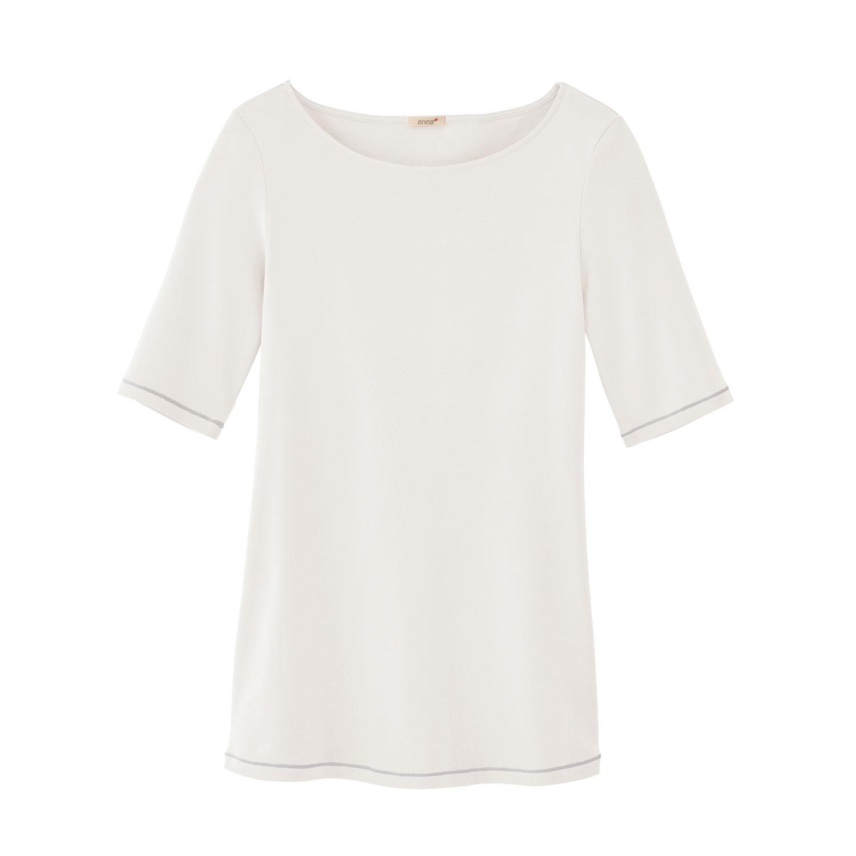 Enna Shirt met korte mouw, natuurwit | Waschbär Eco-Shop from Waschbär