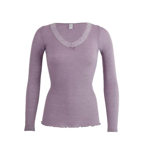 Shirt met lange mouwen, roze 44