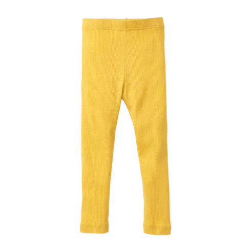 Kinder-leggings, saffraan 98/104