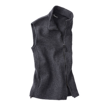 Walkstof gilet BERGA, antraciet