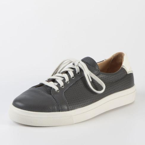 Sneaker, grijs 38