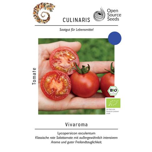 Open-source zaaigoed tomaat Vivaroma