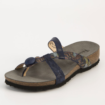 "Teenslipper ""Julia"", indigo"