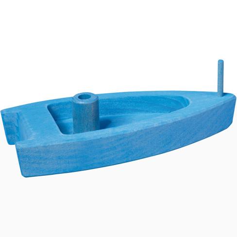 Luchtballonboot, blau