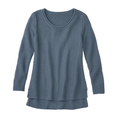 Pullover, rookblauw 36/38