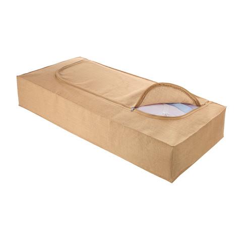 Onderbedbox van jute