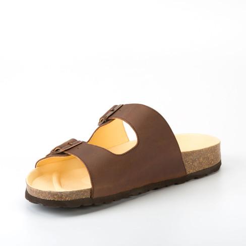 Slipper Neuss, bruin 39