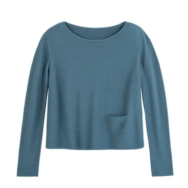 Korte pullover, stormy blue