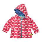 Baby-outdoorjas, koraal