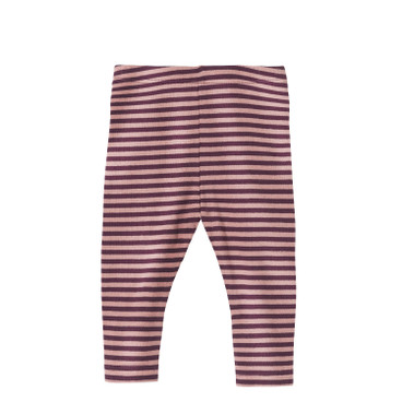 Baby-leggings, bes/roze