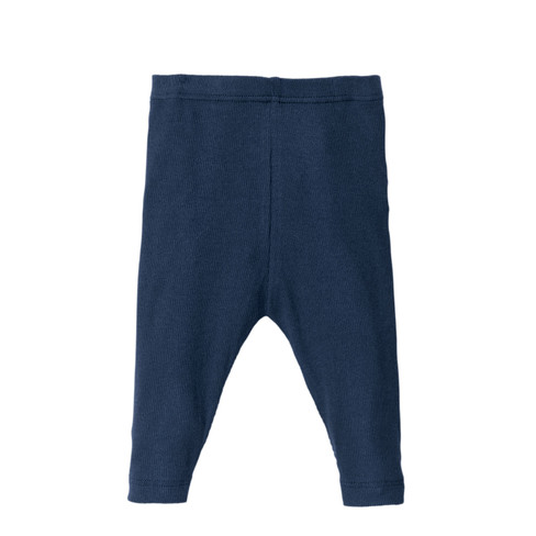 Baby-leggings, blauw 62/68