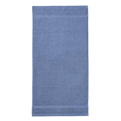 Biohanddoek, 2-dlg. set, nachtblauw 50 x 100 cm