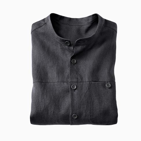 Linnen overhemd 1/1-mouw, lei L