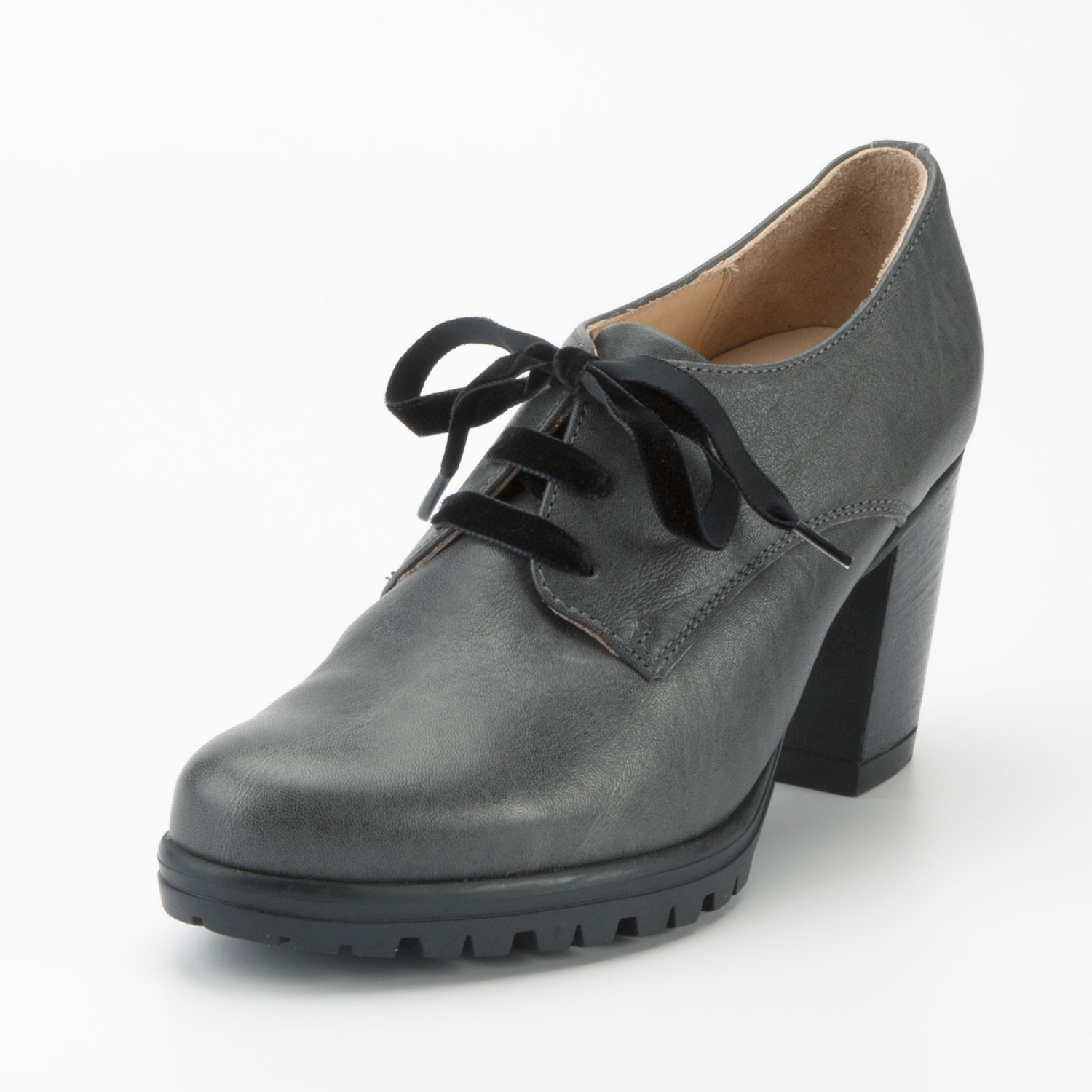 Enna Pumps, antracietgrijs | Waschbär Eco-Shop from Waschbär