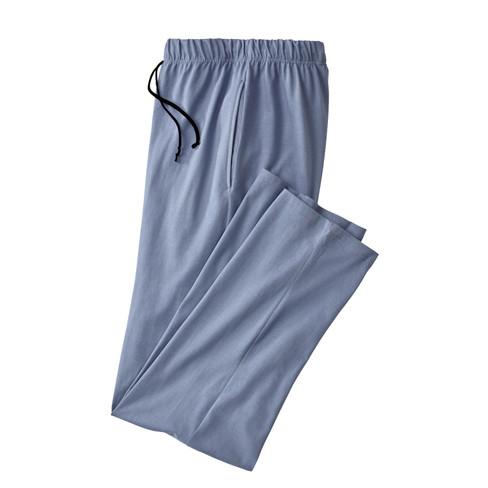 Pyjamabroek, staalblauw XXL