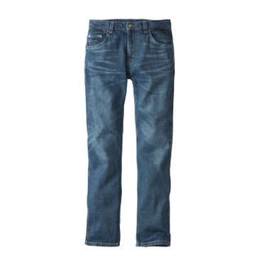 5-pocket-jeans met hennep, darkblue