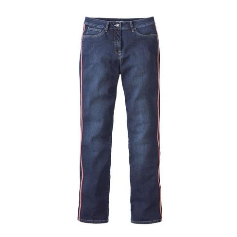 Bio-jeans in 5-pocket-style, darkblue 38