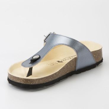 "Teenslipper ""Rees"", blau"