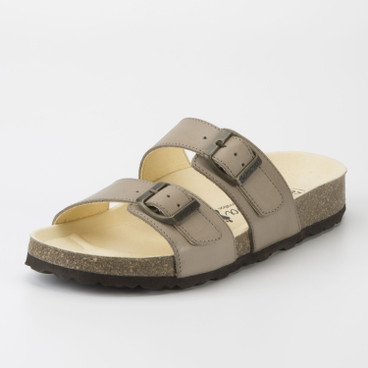 "Slipper ""Hilden"", taupe"