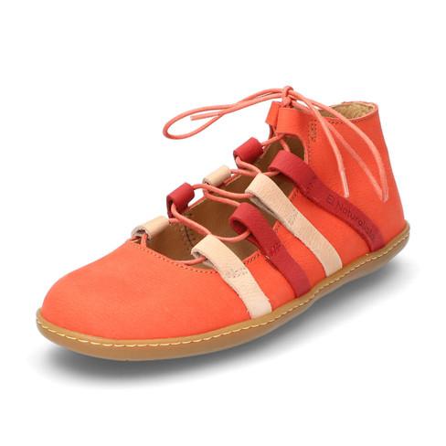 Lage schoenen El Viajero, koraal 40