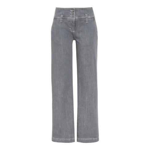 Bio-jeans Marlene, grijs 44