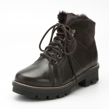 Veterboots, mocca