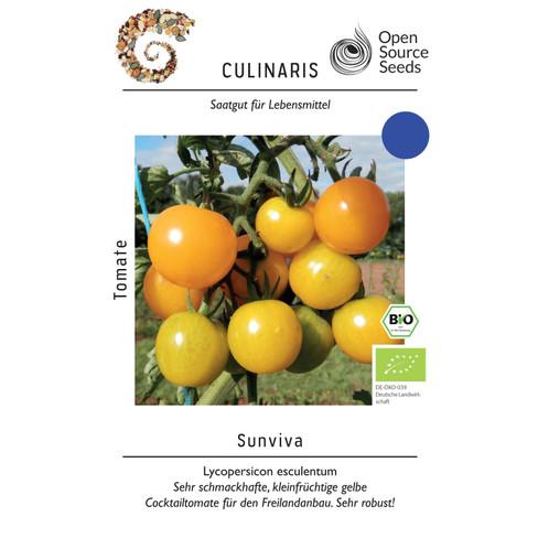 Open-source-zaaigoed tomaat Sunviva