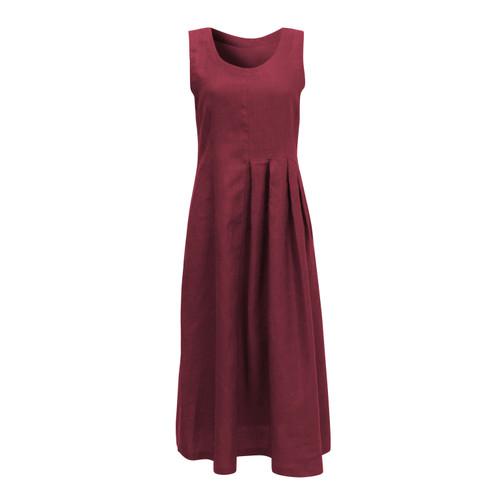 Linnen jurk, granaat 40