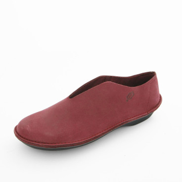 Slipper, bessenrood