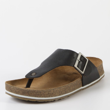 "Teenslipper ""Conny"", zwart"